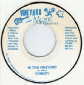 SALE ITEM - Doniki - In The Vineyard / version (Vineyard) JA 7""